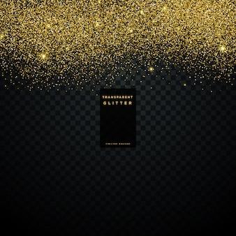 Złoty glitter tekstury tła konfetti eksplozji