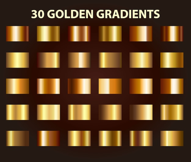 Złoty gradient