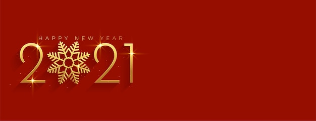 Złoty i czerwony szczęśliwego nowego roku z miejsca na tekst