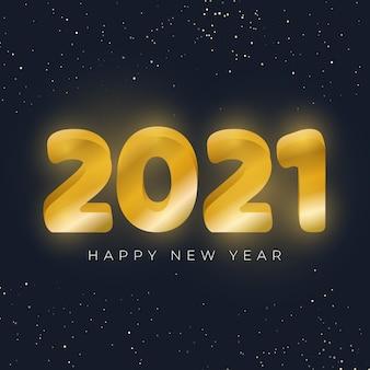 Złoty nowy rok 2021