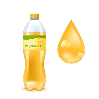 Złoty olej roślinny