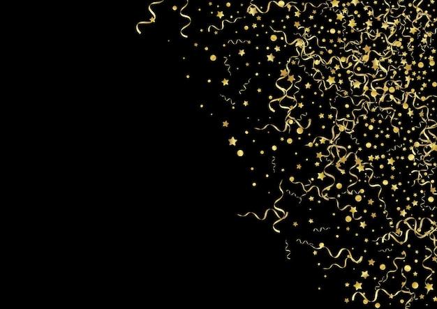Złoty serpertyn czarne tło
