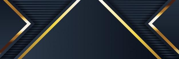 Złoty sztandar złoty luksusowy jasny kolor
