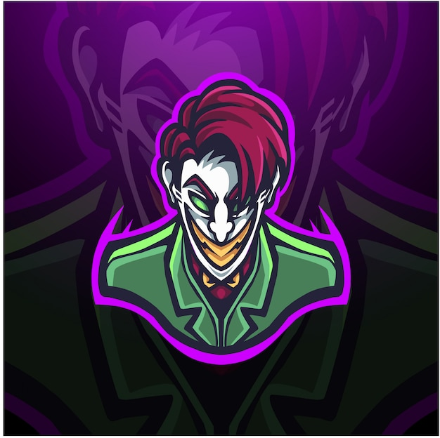 Złowroga ilustracja klauna