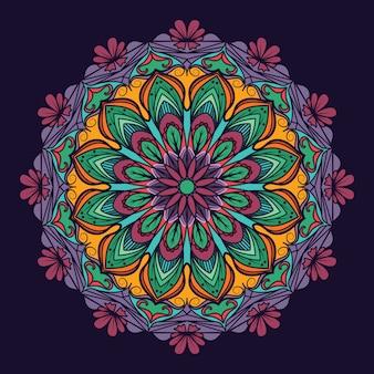 Złożony wzór mandali