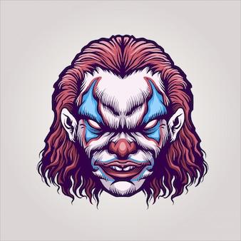 Zły klaun