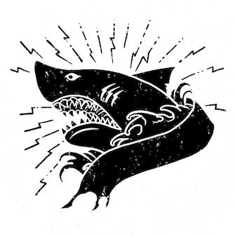 Zły rekin