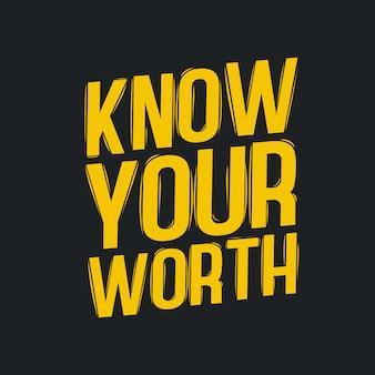 Znać swoje cytaty typograficzne