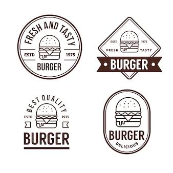 Znaczek burger