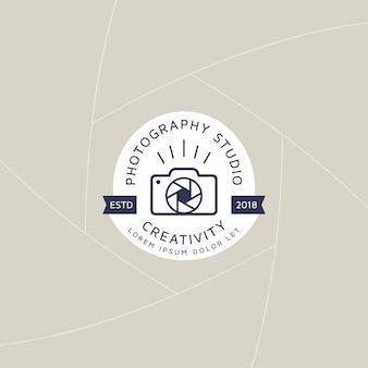 Znaczek lub etykieta fotografii kreatywnej