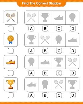 Znajdź i dopasuj odpowiedni cień butów do biegania trophy i rakiet do badmintona