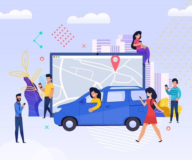 Znajdź innego podróżnika. easy find companion road.