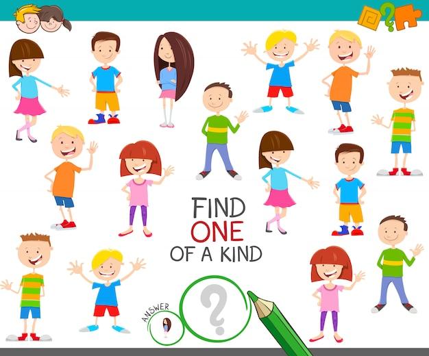 Znajdź jedną z miłych gier edukacyjnych z dziećmi