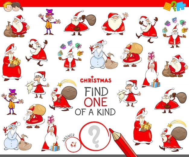 Znajdź jedyną w swoim rodzaju świąteczną postać