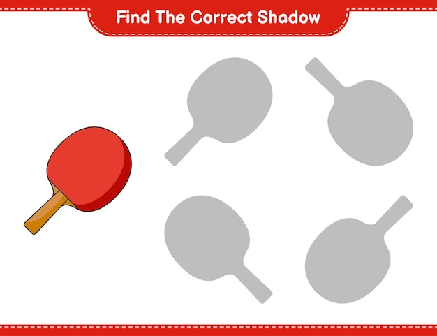 Znajdź odpowiedni cień gra edukacyjna dla dzieci