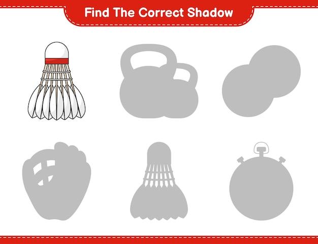 Znajdź odpowiedni cień. znajdź i dopasuj odpowiedni cień lotka. gra edukacyjna dla dzieci