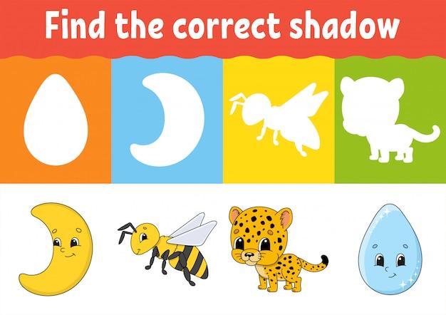 Znajdź odpowiedni cień