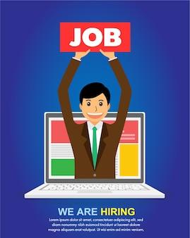Znajdź pracę na notebooku