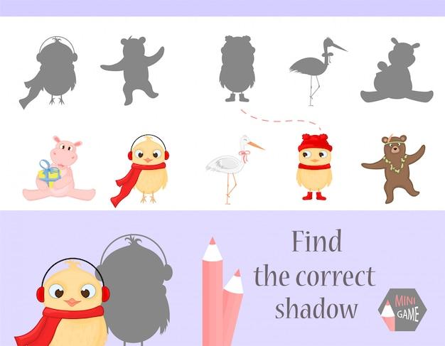 Znajdź właściwy cień