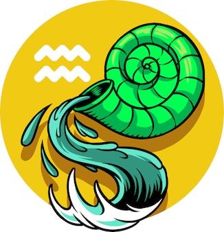 Znak aquarius