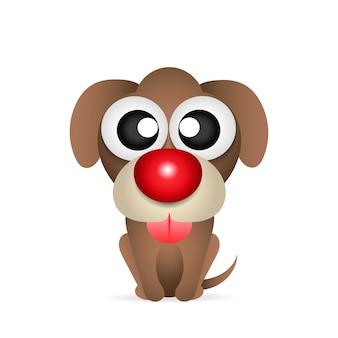 Znak ładny pies szczeniak