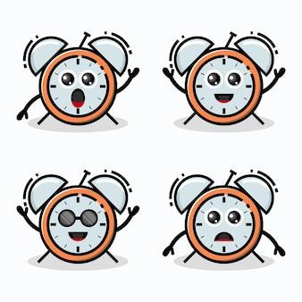 Znak logo budzika