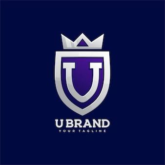 Znak odznaki korony tarczy u.