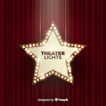 Znak światła teatru