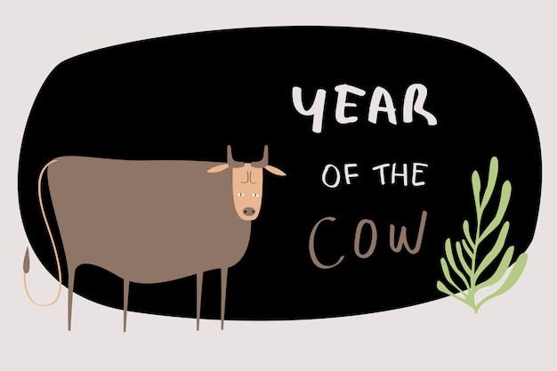 Znak zodiaku krowa chińska