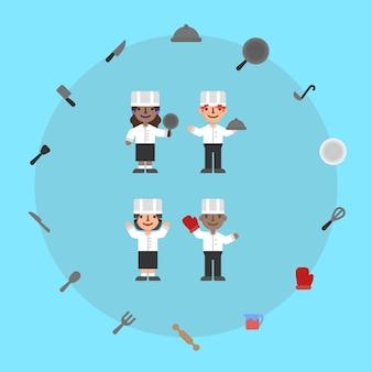 Znaki szefa kuchni
