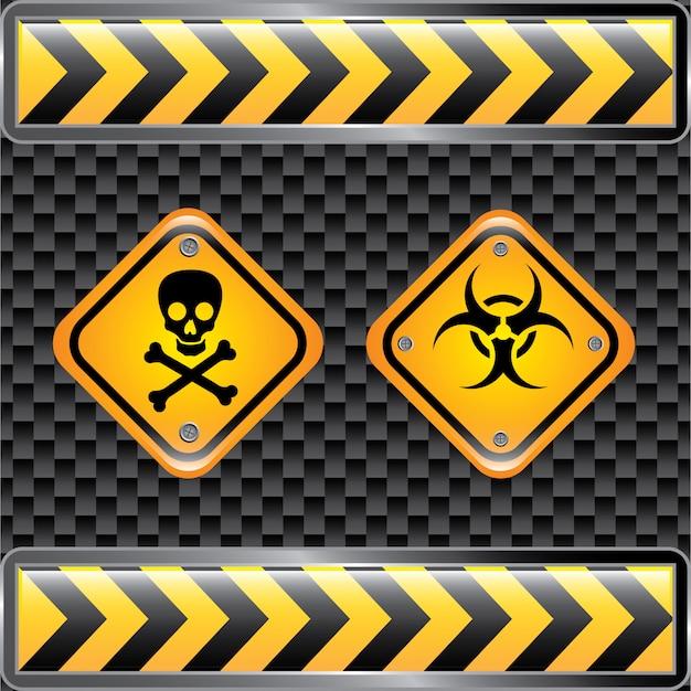 Znaki zagrożenia biologicznego