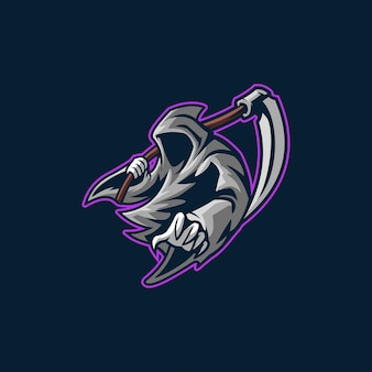 Żniwiarz logo zabójca hallowen