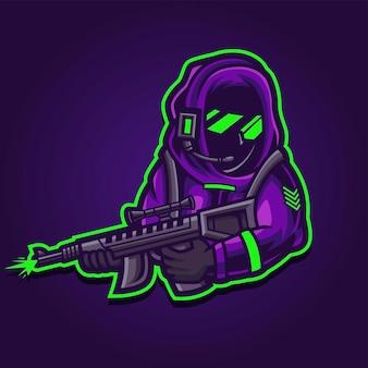Żołnierz esport gaming logo
