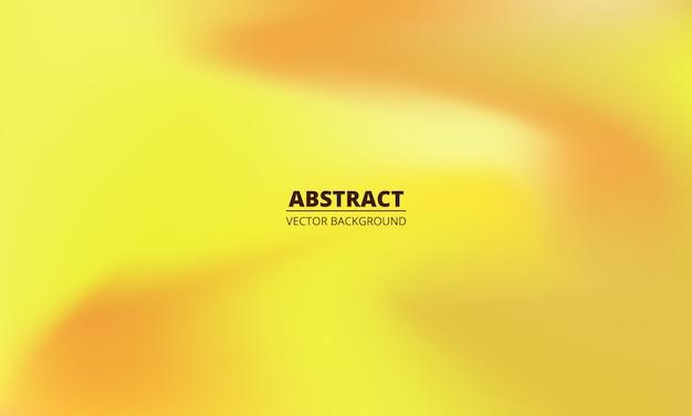 Żółte i pomarańczowe holograficzne kolorowe tło gradientowe.