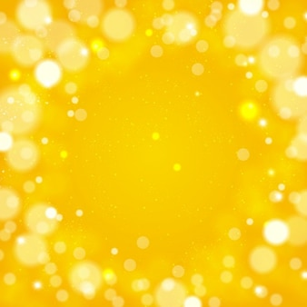 Żółte okręgi w tle