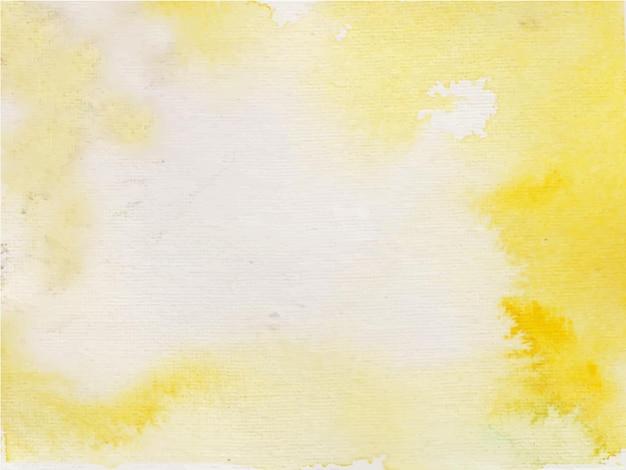 Żółte pomarańczowe tło akwarela dla tekstury tła