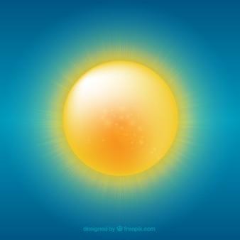 Żółte słońce