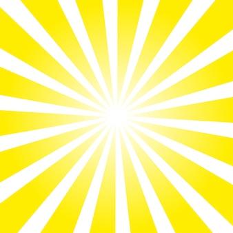 Żółte tło ray