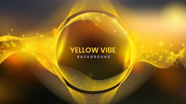 Żółte tło vibe
