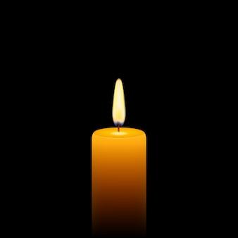 Żółtej świecy