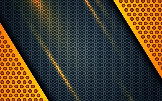 Żółty abstrakcjonistyczny backgrund nowożytny korporacyjny