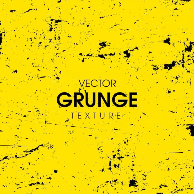 Żółty abstrakcjonistyczny grunge tekstury tło