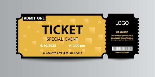 Żółty bilet