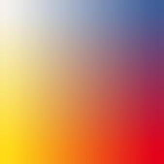 Żółty, kremowy, czerwony, chabrowy gradientowa tapeta tło wektor ilustracja