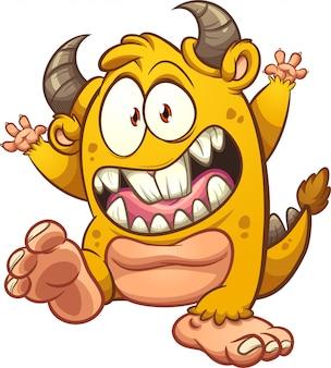 Żółty potwór