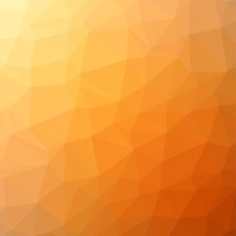 Żółty streszczenie tło wielokąta.