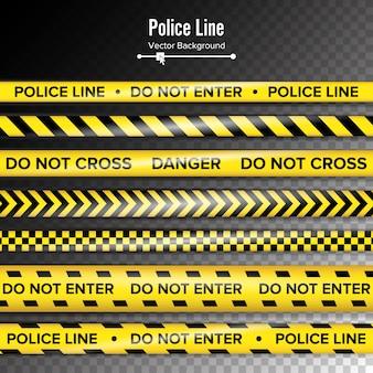 Żółty z czarną linią policyjną.