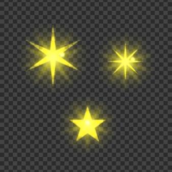 Żółtych gwiazd kolekcja
