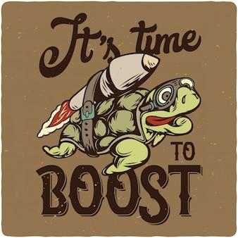 Żółw i rakieta