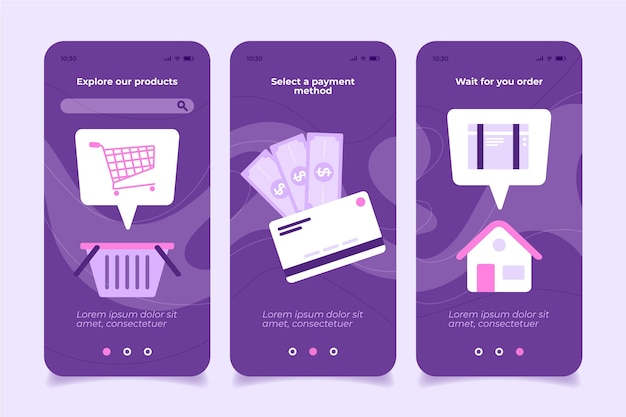 Zostań w domu i kup aplikację mobilną online